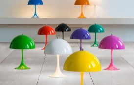 Moderna lámpara Verner Panton